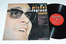 MICHEL LEGRAND Chante et s'accompagne LP 1964 Philips Canada 840.550 BY VG/VG