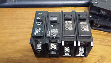 SET of  4- BR120 MP120 CHALLENGER MURRAY T&B 1 POLE 20 AMP CIRCUIT BREAKER
