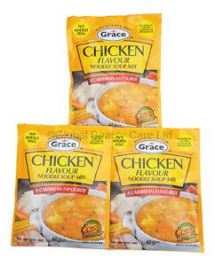 Grace Chicken Flavour Noodle Soup Mix (Pack of 3)