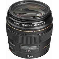 Canon Telephoto EF 100mm f/2.0 USM Autofocus Lens