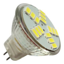 MR11 15 SMD LED 5630 4W 12V DC 360LM WARM WHITE BULB ~30W