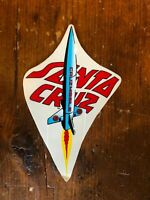 1 Vintage Santa Cruz Rocket skateboard sticker    Alva - Sims  - Powell sticker