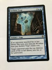 Archive Trap Zendikar Mtg Lightly Played