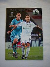 Orig.PRG    Champions League  2008/09    DINAMO KIEW - FC PORTO  !!  SELTEN