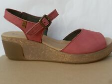 El Naturalista 5000 Leaves Sandales Chaussures Femme 40 Salome Mary Jane UK7 New