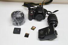 Nikon D D5200 24.1MP Fotocamera Reflex Digitale-Nero (Kit Con AF-S VR DX LENTE 18-55)