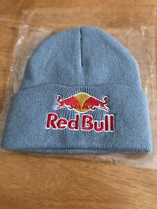 Red Bull Beanie Hat Brand New Grey Colour