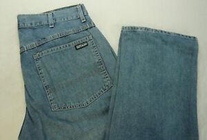 SMOG Herren Jeans Hose Artnr: 10-009 Gr W: M Blau Regular Hip Hop Straight A538