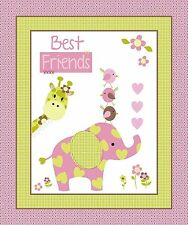 BEST FRIENDS PANEL FABRIC CP52938