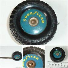 Vintage Good Year Tyre Sewing Tape Measure Enamel metal Tape Advertising Hobby