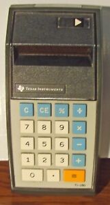 1974 Texas Instrument TI-150 Calculator
