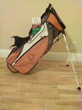 Titleist Stand/Carry golf bag with 6-way dividers (Broken Strap)