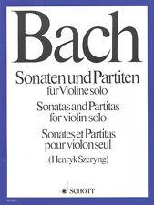 Sonatas and Partitas for Solo Violin New Schott 049006734