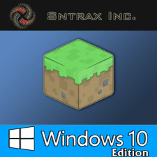 Minecraft Windows 10 Edition, PC, CD KEY, No BOX, Activation Key Only
