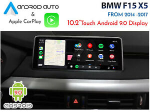 """BMW F15 X5 - Touch 10.2"""" Android 9.0 Display + CarPlay & Android Auto upgrade"""