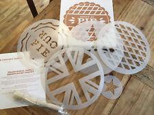 Lovey Pie Baking Stencil Kit - Various Size Stencils