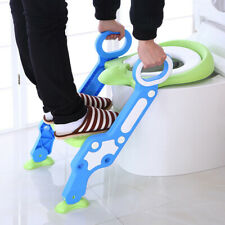 Baby Potty Toilet Trainer Seat Step Stool Ladder Adjustable Training Chair seat