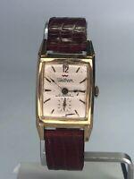 Vintage Waltham Mens Watch INCABLOC 17 Jewels WORKING WIND UP