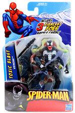 "Marvel Spider-Man TOXIC BLAST VENOM 4"" 1:18 Action Figure Hasbro 2009"