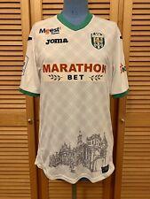 Karpaty Lviv 2017-2019 home Boroday match worn football shirt jersey maillot