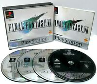 Final Fantasy VII 7 ~ Sony PlayStation PS1 Platinum ~ PAL *Excellent CIB*