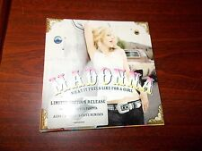 MADONNA  WHAT IT FEELS LIKE FOR A GIRL CD Limited Edition with poster
