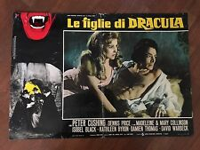 FOTOBUSTA LE FIGLIE DI DRACULA Twins of Evil,Hammer Peter Cushing,Price,Hough