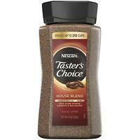 NESCAFE Taster's Choice Instant Coffee, House Blend (14 oz.) USA FREE SHIPPING