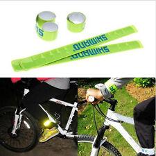 Pop outdoor nuit sécurité équitation vélo réfléchissant pantalon pantalon clips bracelet strp