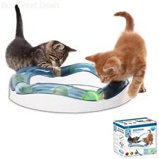 Kitten Toys Cat Interactive Toys Speed Circuit Cat Supplies Kitten Play Ball Set