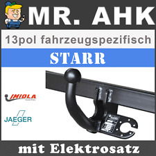 VW Golf VI 6 Fließheck 5K 08-12 AHK Anhängerkupplung starr 13pol spe. E-Satz