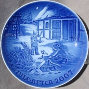 BING & GRONDAHL 2007 Christmas Plate B&G --  Christmas in the Countryside  w/Box