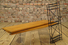 60er Danish Modern STRING REGAL WANDREGAL LADDER SHELF REGALSYSTEM BÜCHERREGAL