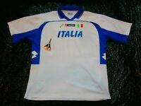 True Vintage LOTTO ITALIA SUPPORTER SOCCER FOOTBALL JERSEY SHIRT KIT MEN XXL