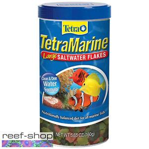 Tetra Marine Large Saltwater Flakes 5.65oz (160g) Fish Food Marine Reef Aquarium