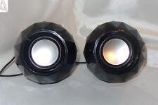 Speaker Mini Lautsprecher MultiMedia PC Notebook MP3 MP4 Portable Ball Black