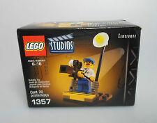 Lego ® estudio de cine set 1357 cámara hombre en Box nuevo con embalaje original New