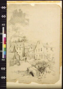 Welmich,Ruins of Castle,Mouse,Germany,Houses,Country Life,J. Andre Castaig 8587