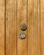 2 Civil War Eagle Cuff Kepi Button Dug Relic Battle of Weldon Railroad Virginia