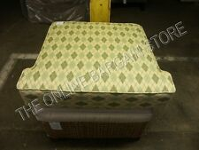 Frontgate Cassara Teak Sofa replacement CHAIR Bottom Cushion SUNBRELLA DAFFODIL