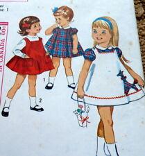 *LOVELY VTG 1960s GIRLS GIRAFFE DRESS Sewing Pattern 1