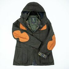 Barbour Mens Jacket Dragh Waxed OLIVE size M LIMITED EDITION