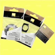 Genuine Nikon Round Rubber Eyecup for D7500 D7200 D5600 D5500 D5300 D3400 D3300