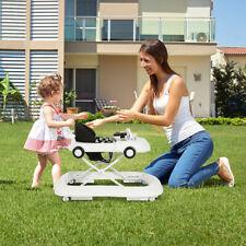 2-in-1 Lauflernhilfe Baby Walker höhenverstellbar Gehfrei klappbar Lauflernwagen