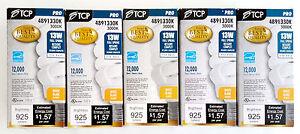 x5 TCP PRO 4891330K Compact Fluorescent Lamp, 13W, EL/mDT, 3000K