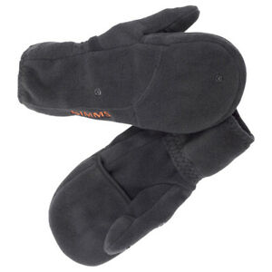 SIMMS Headwaters Fleece Foldover Mitt - Large Black - Free Ship - On Sale Now