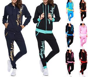 Jogginganzug Sportanzug Trainingsanzug Fitnessanzug Fitness Power Damen