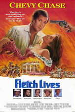 FLETCH LIVES Movie POSTER 27x40 Chevy Chase Hal Holbrook Julianne Phillips
