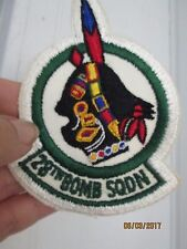 US AIR FORCE 28TH BOMB SQUADRON PATCH  USA military Indian brave