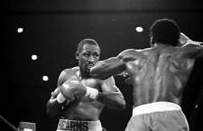 Old Boxing Photo Thomas Hearns Looks To Land A Punch Against James Kinchen 1